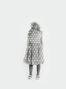 Armida Gandini - Standing Up #1 - Graphite and photography transferred on rosaspina paper - cm. 50 x 70 - 2016