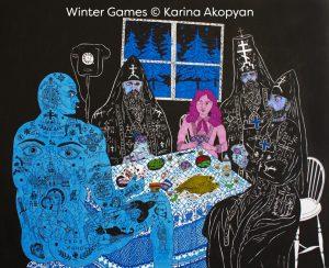 Winter Games © Karina Akopyan;