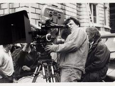 Neil Jordan directing Michael Collins (1996) Image Credit: Neil Jordan.